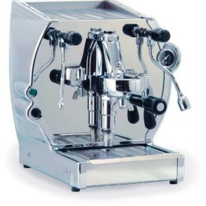 La Nuova Era Cuadra espressomachine chrome