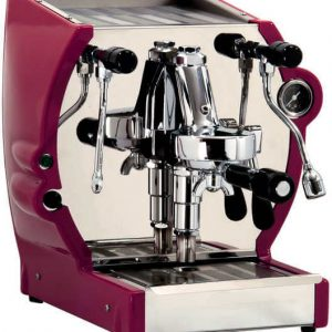 La Nuova Era Cuadra espressomachine red