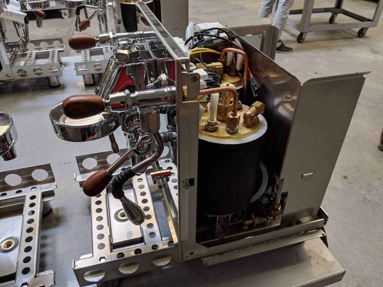 Bezoek Bezzera fabriek in Rosate Milaan