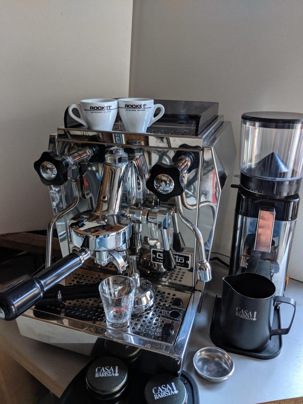 <del>Complete barista set voor €999,00</del>
